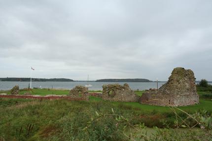 Kong Hans skibsværft på Slotø