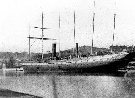SS Great Britain, by William Henry Fox Talbot , april 1844